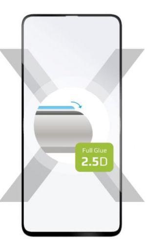 Fixed Ochranné sklo Full-Cover pro Samsung Galaxy M51, lepení přes celý displej, černé FIXGFA-583-BK