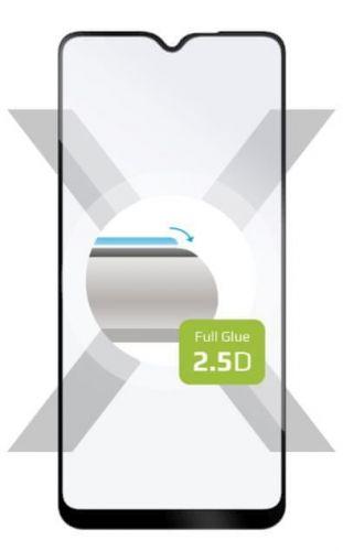 Fixed Ochranné sklo Full-Cover pro Samsung Galaxy A20s, lepení přes celý displej, černé FIXGFA-593-BK