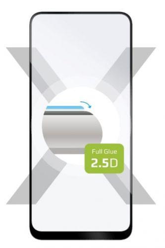 Fixed Ochranné sklo Full-Cover pro Motorola G8, lepení přes celý displej, černé FIXGFA-515-BK