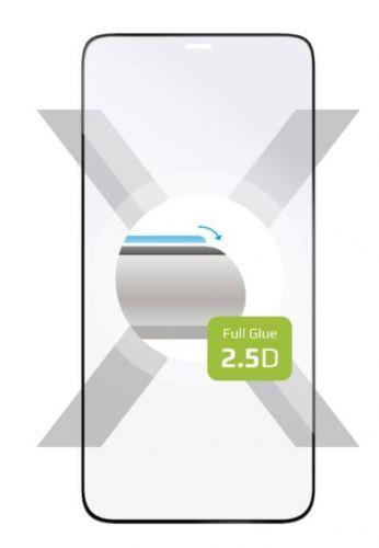 Fixed Ochranné sklo Full-Cover Apple iPhone 12/12 Pro, celý displej, černé FIXGFA-558-BK