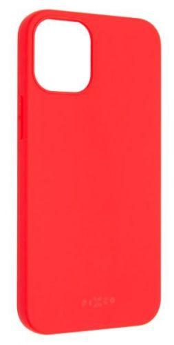 Fixed Zadní pogumovaný kryt Story pro Apple iPhone 12 Mini, červený FIXST-557-RD