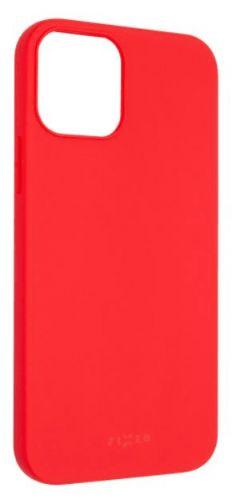 Fixed Zadní pogumovaný kryt Story pro Apple iPhone 12/12 Pro, červený FIXST-558-RD