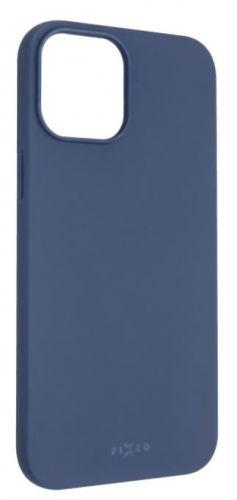 Fixed Zadní pogumovaný kryt Story pro Apple iPhone 12 Pro Max, modrý FIXST-560-BL