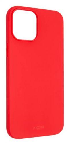 Fixed Zadní pogumovaný kryt Story pro Apple iPhone 12 Pro Max, červený FIXST-560-RD