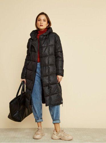 ZOOT černý dámský zimní prošívaný kabát Gizela XS