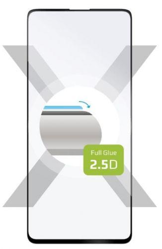 Fixed Ochranné sklo Full-Cover pro Samsung Galaxy M31s, lepení přes celý displej, černé FIXGFA-596-BK