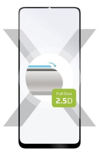 Fixed Ochranné sklo Full-Cover pro Realme C12, lepení přes celý displej, černé FIXGFA-609-BK