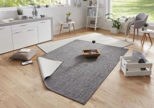 Bougari AKCE: 160x230 cm Kusový koberec Twin-Wendeteppiche 103097 grau creme 160x230