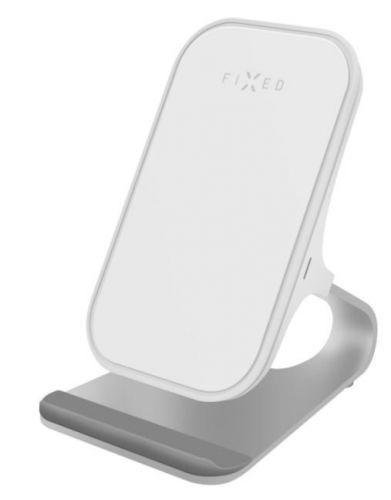 Fixed Stojánek s bezdrátovým nabíjením Frame wireless, bílý FIXFR-WRL-WH