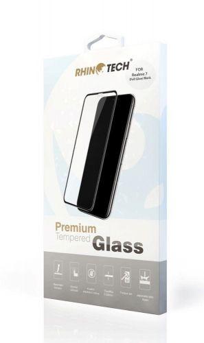RhinoTech Tvrzené ochranné 2.5D sklo pro Realme 7 (Full Glue) Black RT188