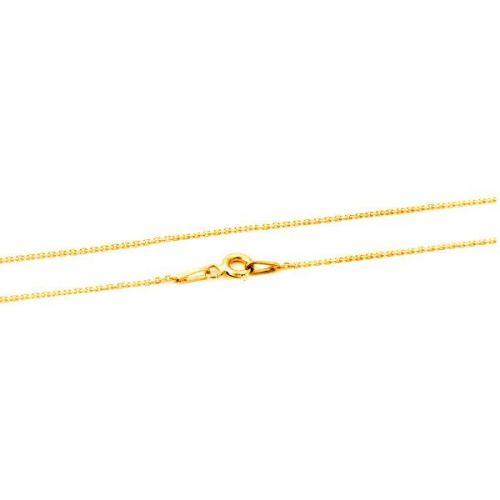 Beneto Pozlacený stříbrný řetízek Anker AGS1286-GOLD (Délka 42 cm) stříbro 925/1000