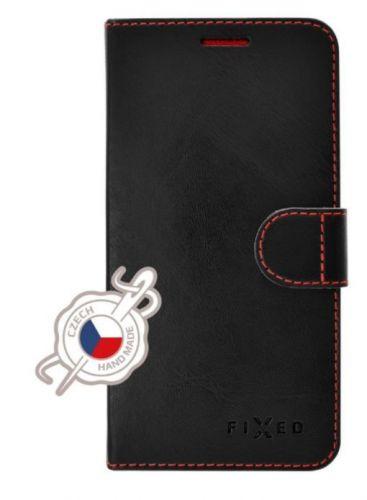 Fixed Pouzdro typu kniha Fit pro Apple iPhone 12/12 Pro, černé FIXFIT-558-BK