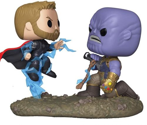 Funko POP Movies Moments Marvel Thor vs Thanos