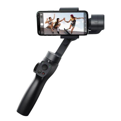 BASEUS Handheld Gimbal Stabilizer stabilizátor na mobil, šedý