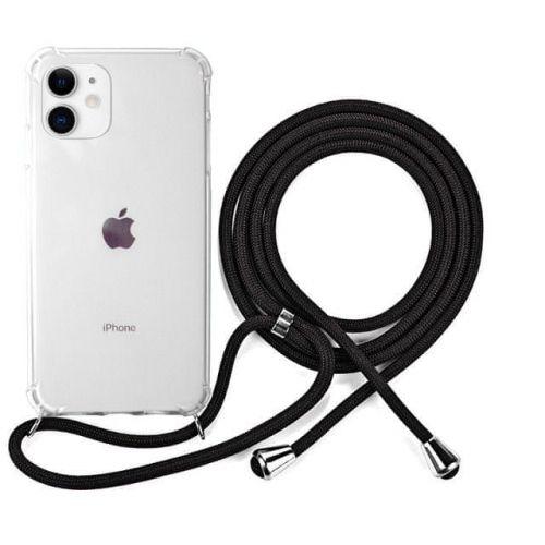 EPICO Nake String Case iPhone 11 42410101300007, bílá transparentní / černá
