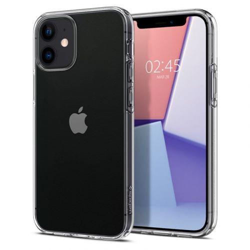 Spigen Liquid Crystal iPhone 12 mini ACS01740, čirý