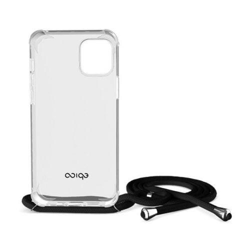 EPICO Nake String Case iPhone 12 Pro Max 50210101300002, bílá transparentní / černá