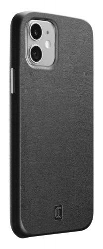 CellularLine Ochranný kryt Elite pro Apple iPhone 12 mini, PU kůže ELITECIPH12K, černý