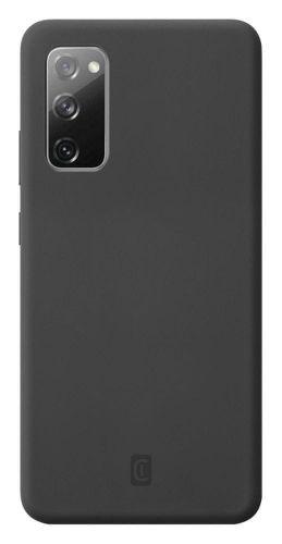 CellularLine Ochranný silikonový kryt Sensation pro Samsung Galaxy S20 FE SENSATIONGALS20FEK, černý