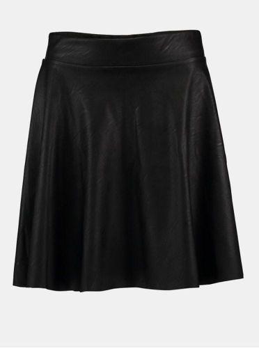 Haily´s černá koženková sukně L