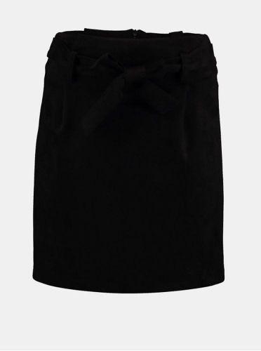 Haily´s černá sukně v semišové úpravě XS