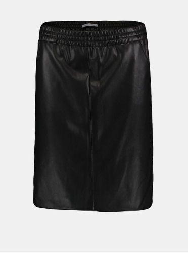 Haily´s černá koženková sukně XS