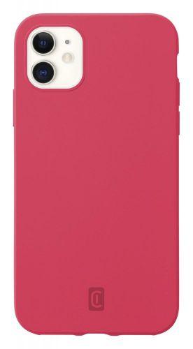 CellularLine Ochranný silikonový kryt Sensation pro Apple iPhone 12 mini SENSATIONIPH12O, oranžový
