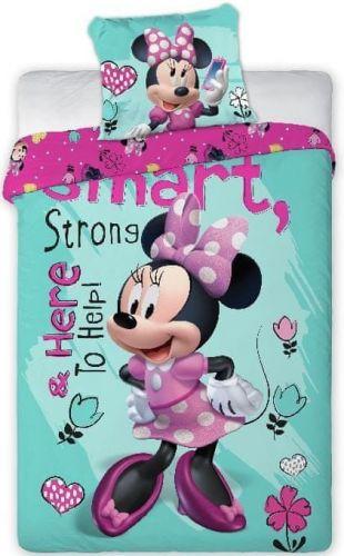 Faro Povlečení Minnie Mouse Smart bavlna 140x200 70x90