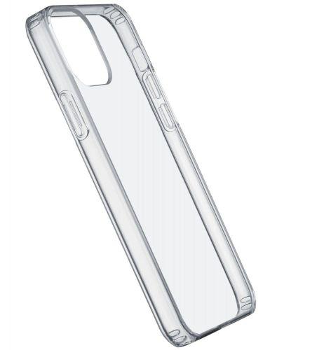 CellularLine Zadní kryt s ochranným rámečkem Clear Duo pro iPhone 12 mini CLEARDUOIPH12T, transparentní