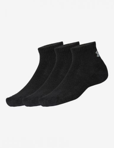 Under Armour Ponožky Training Cotton QTR-BLK,LG M