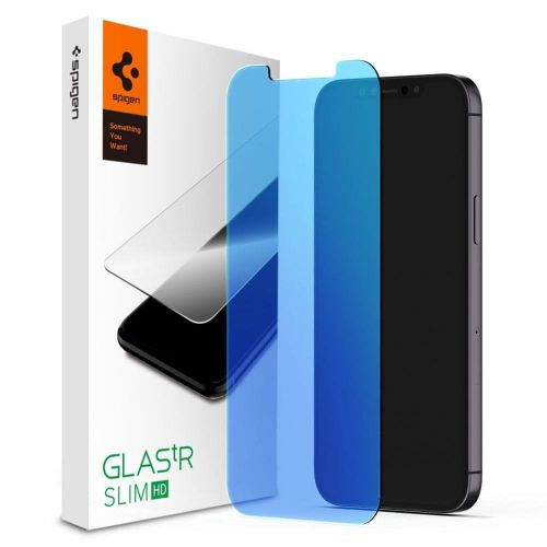 Spigen Glas.Tr Slim ochranné sklo na iPhone 12 / 12 Pro