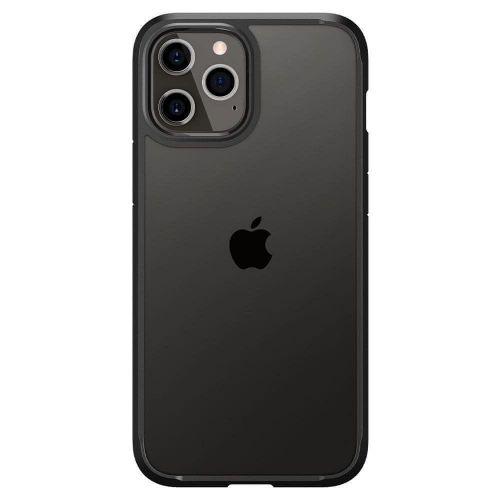 Spigen Ultra Hybrid silikonový kryt na iPhone 12 Pro Max, černý