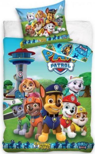 Faro Povlečení Paw Patrol Základna bavlna 140x200 70x90