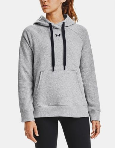 Under Armour Mikina Rival Fleece HB Hoodie-GRY L