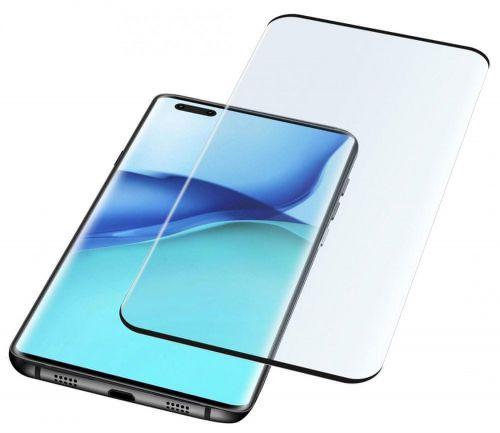 Fixed Ochranné zaoblené tvrzené sklo pro celý displej Glass pro Huawei Mate 40 Pro TEMPGCUMATE40PROK, černé