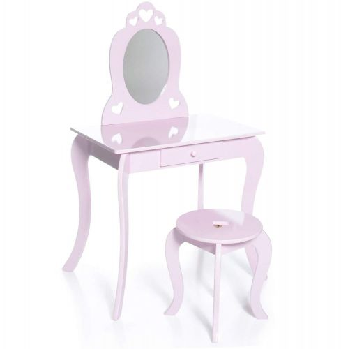 Aga4Kids Dětský kosmetický stolek MRDTC01P cena od 0 Kč