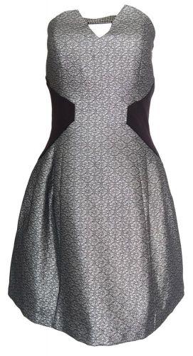 Morgan Stříbrné šaty MORGAN Stříbrná 40