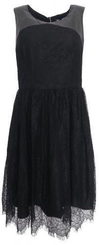 Morgan Krajkové šaty Morgan Černá S