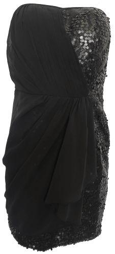 Morgan Kombinované šaty Morgan Černá 38