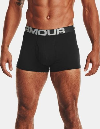 Under Armour Boxerky UA Charged Cotton 3in 3 Pack-BLK XL