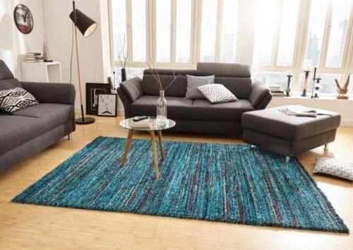Mint Rugs AKCE: 80x150 cm Kusový koberec Nomadic 102691 Meliert Blau 80x150