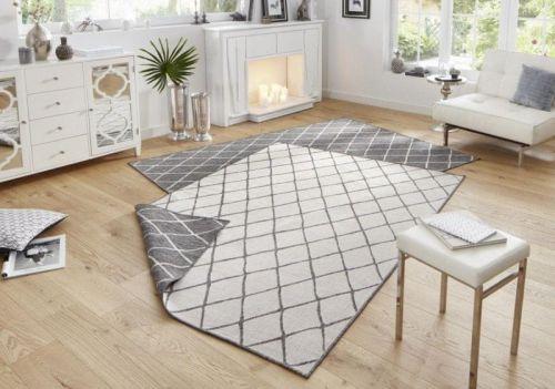 Bougari AKCE: 200x290 cm Kusový koberec Twin-Wendeteppiche 103118 grau creme 200x290