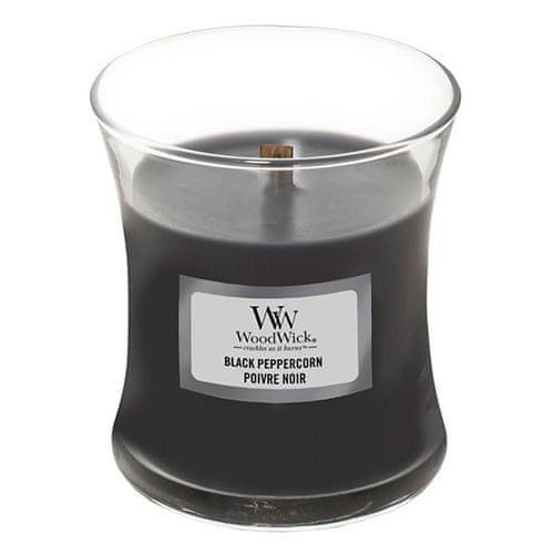 Woodwick Svíčka oválná váza , Černý pepř, 85 g
