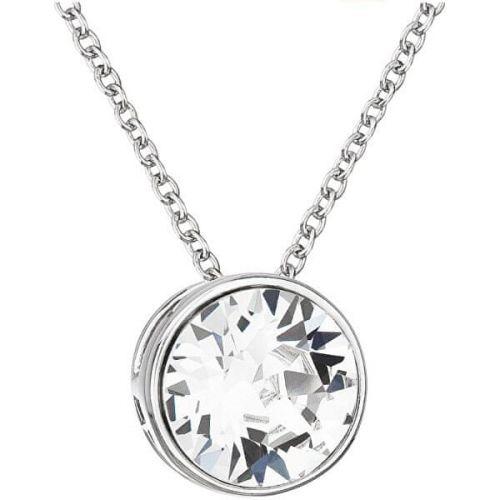Evolution Group Stříbrný náhrdelník s krystalem Swarovski 32069.1 stříbro 925/1000