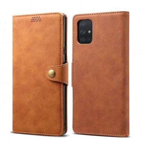 Xiaomi Lenuo Leather pro Samsung Galaxy A51, hnědá