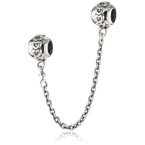 Pandora Stříbrný bezpečnostní řetízek 791088-05 stříbro 925/1000