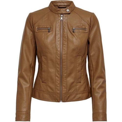 ONLY Dámská bunda ONLBANDIT 15081400 Cognac (Velikost 40)
