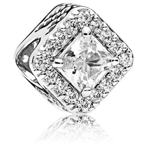 Pandora Třpytivý stříbrný korálek 796206CZ stříbro 925/1000