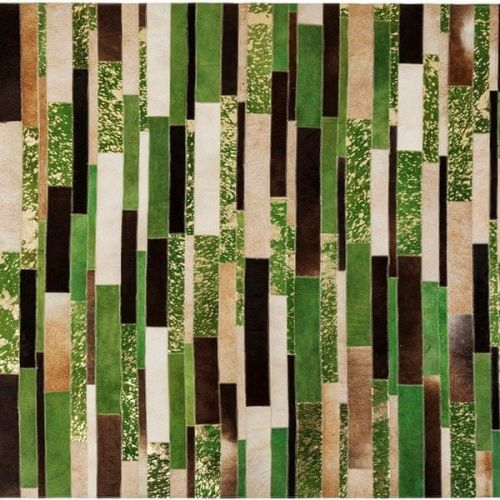 KARE Koberec Brick Green 170×240 cm