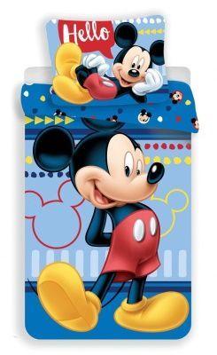 Jerry Fabrics Povlečení Mickey 004 Hello 140x200, 70x90 cm